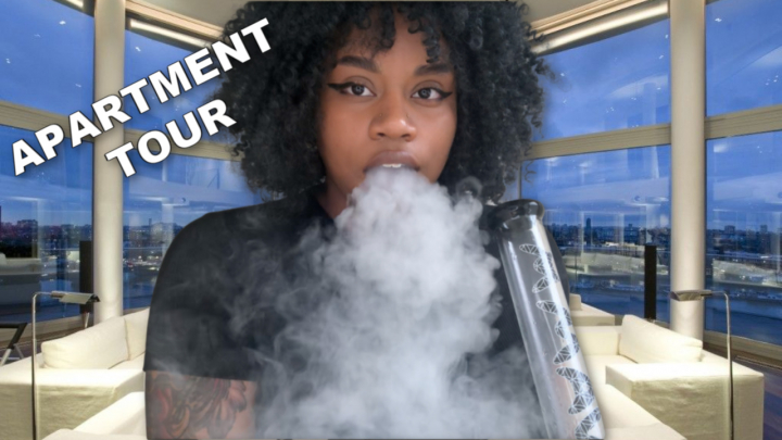 HOTBOXING my LUXURY APARTMENT! + apartment tour