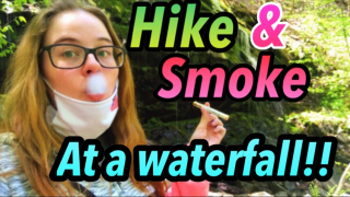 Hike and smoke at a WATERFALL!!|Brittany Allison