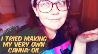 IN THE LIFE OF DEV | I MADE SPECIAL BROWNIES WITH HOMEMADE CANNA - OIL