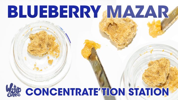 Blueberry Mazar Crumble Review by pts