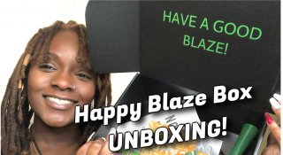 Happy Blaze Box May 2020  UNBOXING! + Sess (Reefer Girl Box)