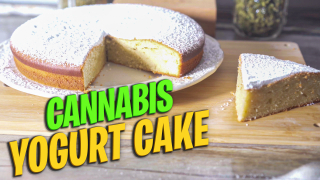 Cannabis Yogurt Cake | How To Make Moist Weed Cake | Easy Cake Recipe