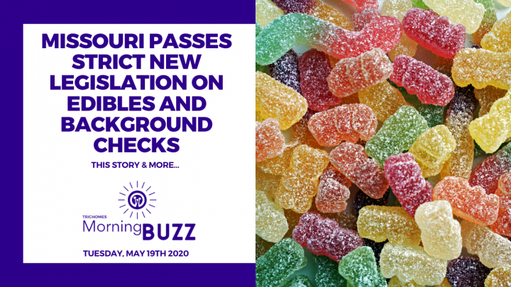 MISSOURI PASSES STRICT NEW LEGISLATION ON EDIBLES AND BACKGROUND CHECKS | TRICHOMES Morning Buzz