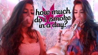 how much i smoke in a day | blunt_bae_