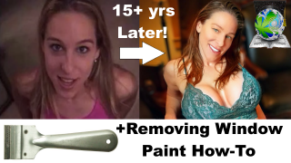 I Bet U Know Heather - She's BACK!! + Paint On Window Removal How-To