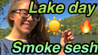 Lake Day Smoke Sesh |Brittany Allison