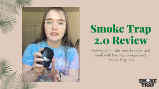 Smoke Trap 2.0 Personal Air Filter Review - Ultimate Sploof To Hide Weed Smoke & Smell