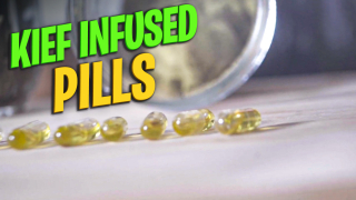 How to make Weed pill using Kief | Kief Infused Pills | DIY Kief Pills