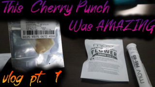 Checking out A new FL Dispensary || MuV Cherry Punch Shatter || Vlog part 1 || FLMMJ