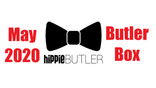 Hippie Butler May 2020 Butler Box Unboxing and Review