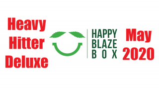 Happy Blaze Box May 2020 Heavy Hitter Deluxe Bong Box Unboxing and Review