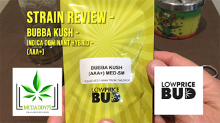 Bubba Kush - Indica Dominant Hybrid (AAA+) - from Low Price Bud - Strain Review
