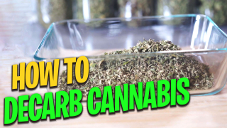 How To Decarb Cannabis Using Oven - 3 Ways- Beginner's Guide to Decarbing Cannabis