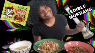 EDIBLE MUKBANG + SMOKE SESH!