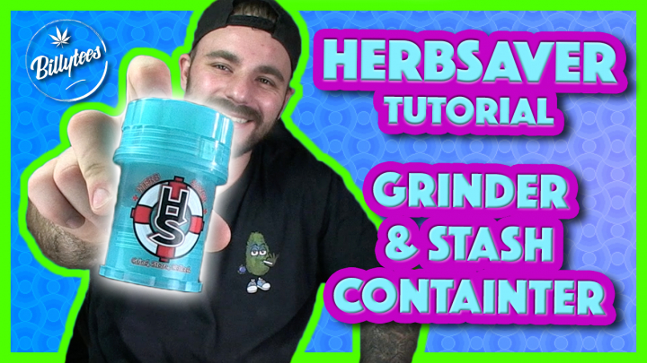 HerbSaver - Grinder, Herb Container, Kief Collecter Stash Container!