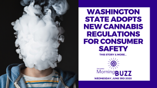 WASHINGTON STATE ADOPTS NEW CANNABIS REGULATIONS FOR CONSUMER SAFETY | TRICHOMES Morning Buzz