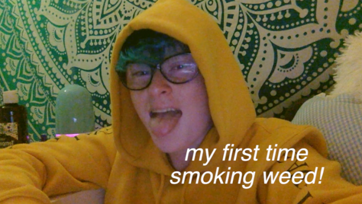 My First Time Smoking Weed (Storytime!)