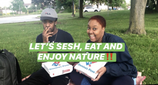 LET'S SESH, EAT AND ENJOY NATURE!! || PuffPuffGyal