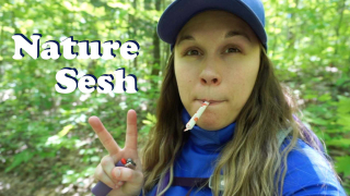 Onaping Falls SOLO HIKE with my dog & NATURE SESH