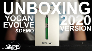 Yocan Evolve 2020 Version Unboxing | First Impressions & Demo | How To Use | eduvape.com