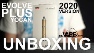 Yocan Evolve Plus 2020 Version Unboxing | First Impressions & Demo | How to Use | by EDUVAPE.COM edu vape