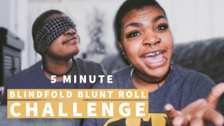 I Rolled a Blunt Blindfolded!