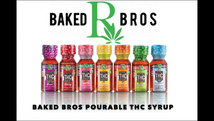 BAKED BROS POURABLE THC SYRUPS!!!