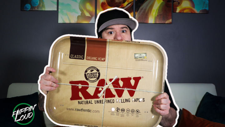The BIGGEST ROLLING TRAY in the WORLD!!! | Raw XXL Dinner Tray