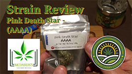 Pink Death Star (AAAA) from Tegridy Farms Cannabis - Strain Review