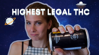 Cannabis Drink Review: TWEED Deep Space MAX Legal THC