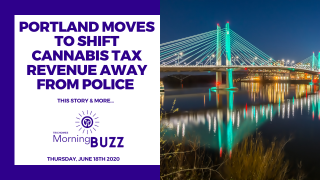 PORTLAND MOVES TO SHIFT CANNABIS TAX REVENUE AWAY FROM POLICE | TRICHOMES Morning Buzz
