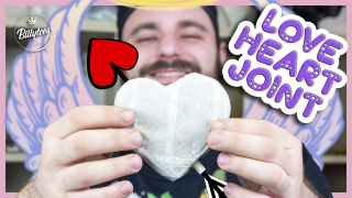 How To Roll A Perfect 20g Love Heart Joint! ❤ - Rolling Tutorial