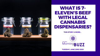 WHAT'S 7 ELEVEN'S BEEF WITH LEGAL CANNABIS DISPENSARIES? | TRICHOMES Morning Buzz