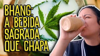 O que é e como fazer BHANG com erva vaporizada / What it is and how to make BHANG with already vaped bud