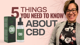 5 Things You Need to Know About CBD (CBD for Beginners)
