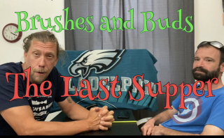 Brushes and Buds (The Last Supper)