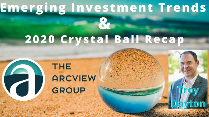 Mid-Year Review of 2020's Crystal Ball Predictions and Emerging Investment Trends