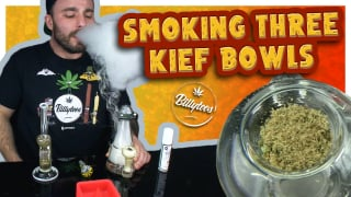 Smoking 3 Kief Bowls In A Row!? Hitting The Hemper Box Rigs