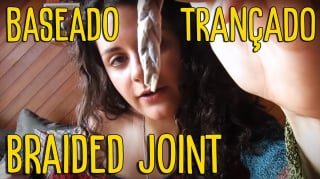 Como bolar um baseado trançado - #TBT - How to roll a braided joint