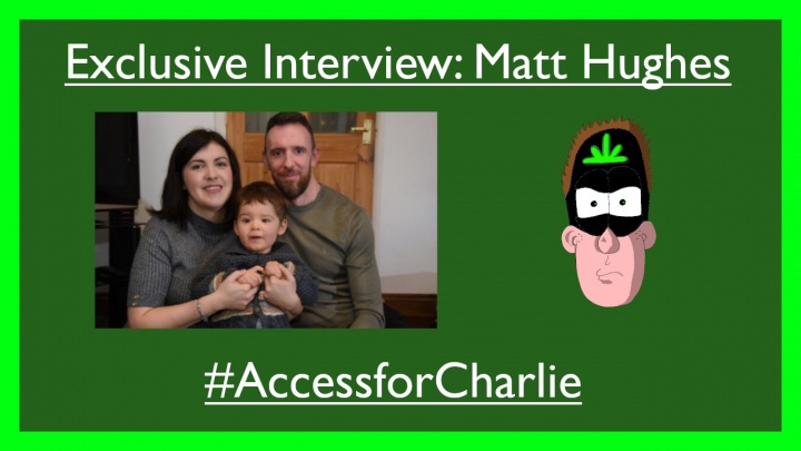Exclusive Interview: Matt Hughes -- '' Cannabis is a medicine unlike any other ''