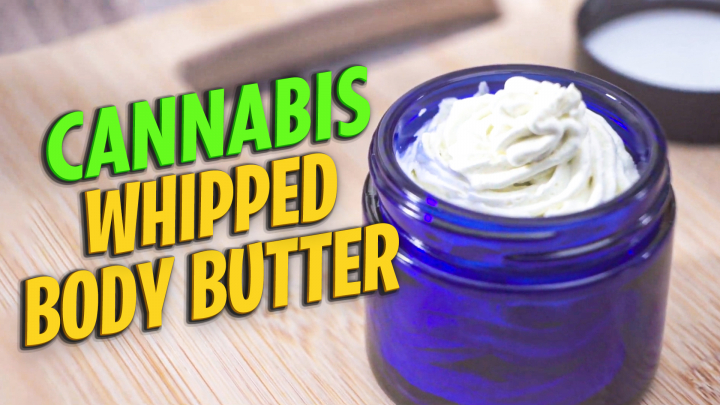 Cannabis Whipped Body Butter | Pain Relief Cream DIY