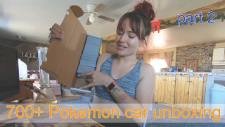 Part 2 : 700+ Pokemon card unboxing