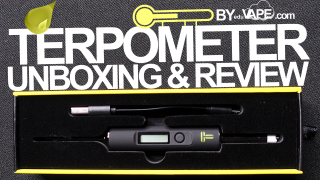 Terpometer Unboxing & Review 2020   First Impressions & DEMO   EDUVAPE.com