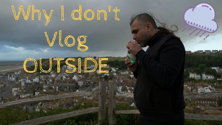Why I don't VLOG outside || WeedanWine