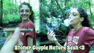 Stoner Couple Nature Sesh | Bakedbeauty420