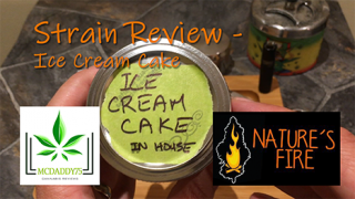 Ice Cream Cake - From Nature's Fire - Strain Review