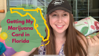 Getting My Medical Marijuana Card in Florida ( outside smoke sesh and garden walk)