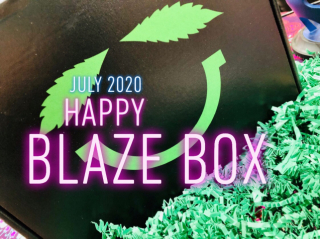 Happy Blaze Box Deluxe Box Unboxing July 2020