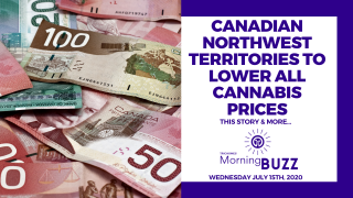 CANADIAN NORTHWEST TERRITORIES TO LOWER ALL CANNABIS PRICES | TRICHOMES Morning Buzz