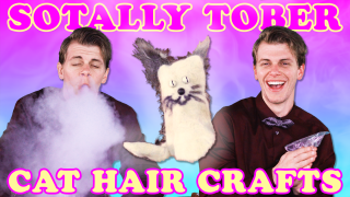 Crafting with what?! // Sotally Tober: Cat Hair Crafts